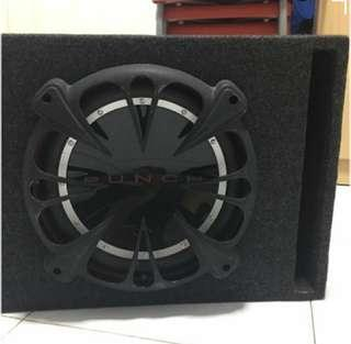 🚚 Woofer speaker with box