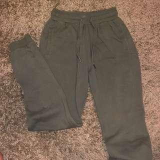 Factorie Army Green Sweatpants