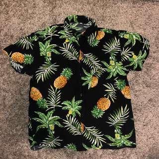 Hawaiian Button Up Shirt