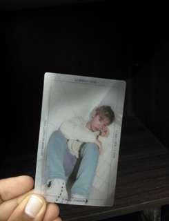 Wanna one park jihoon photocard