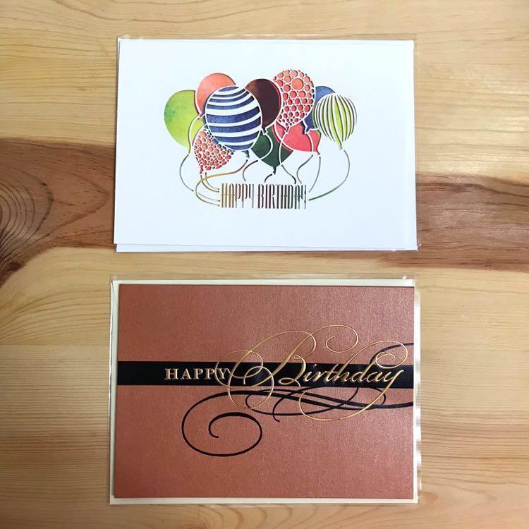 (包郵)生日卡 Birthday card 01