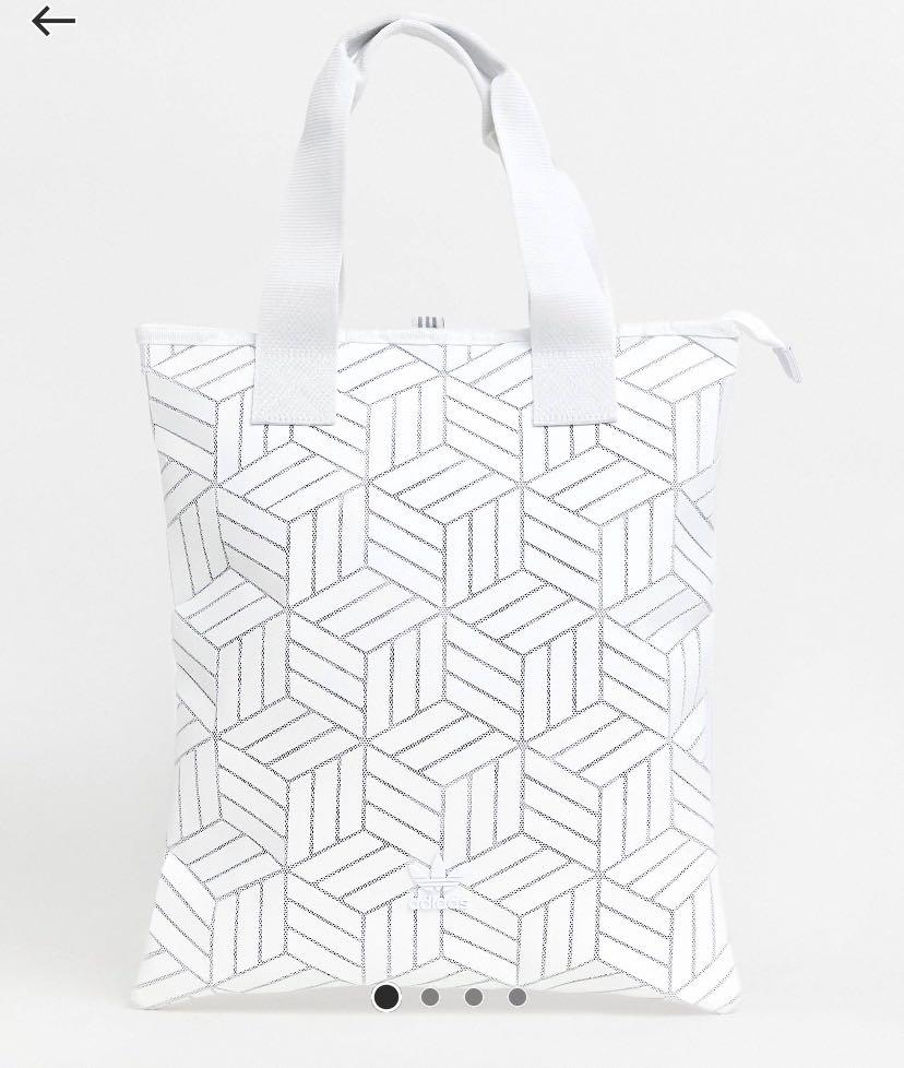 dba51c20594 Adidas 3D geometric shopper tote bag, Women's Fashion, Bags & Wallets,  Sling Bags on Carousell