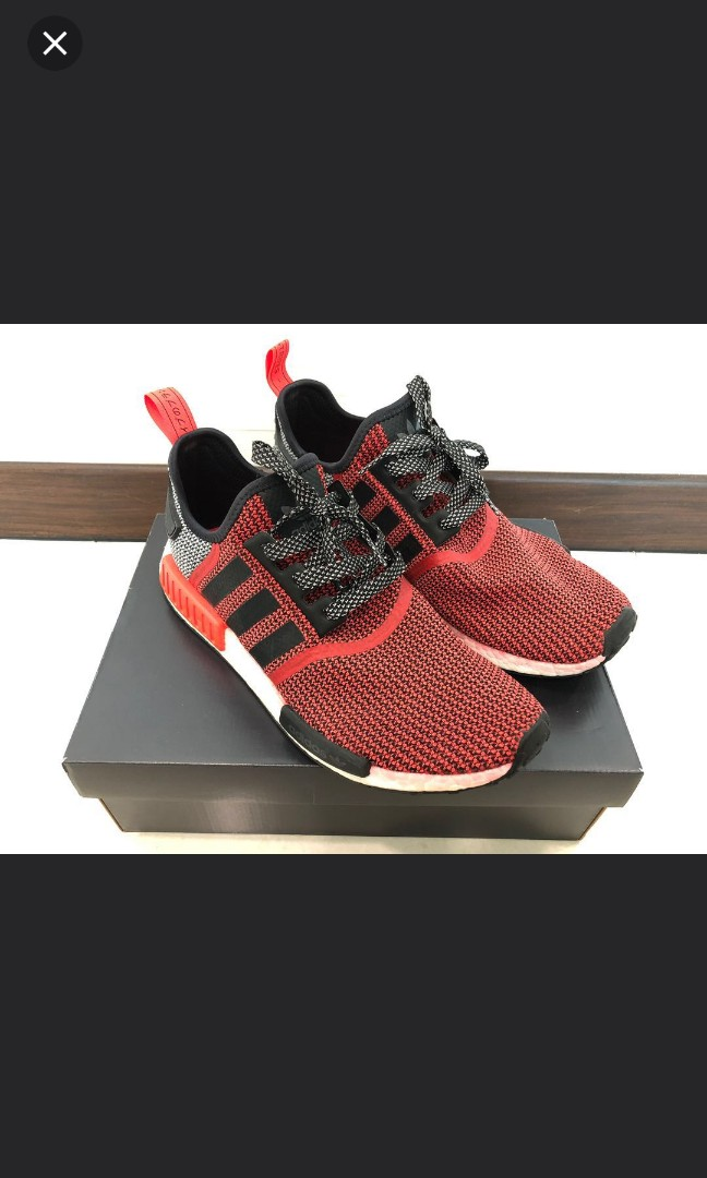 dc390c9845790 Adidas NMD Lush Red Authentic
