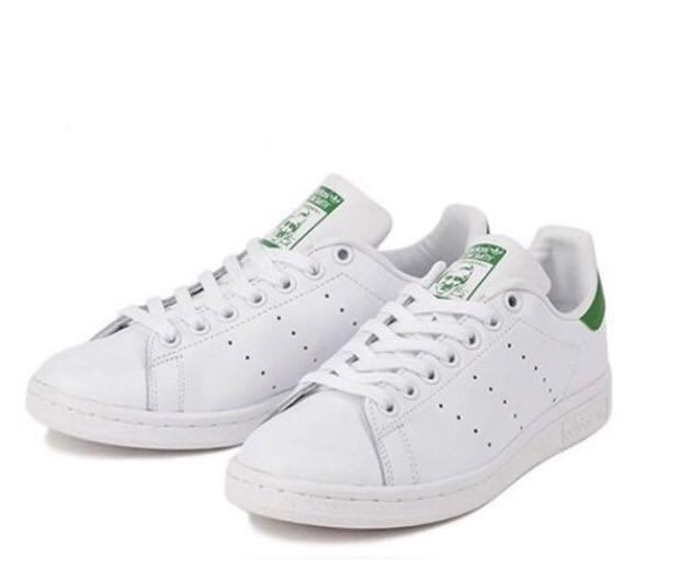 32930e869b5e7e Adidas Stan Smith white green men women