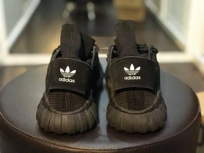 Adidas Tubular Doom Primeknit Triple Black  100% Authentic