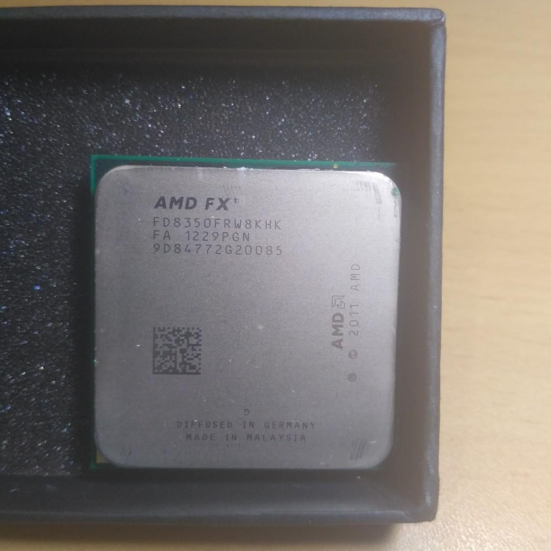 Amd FX 8350 CPU Processor Only, Electronics, Computers
