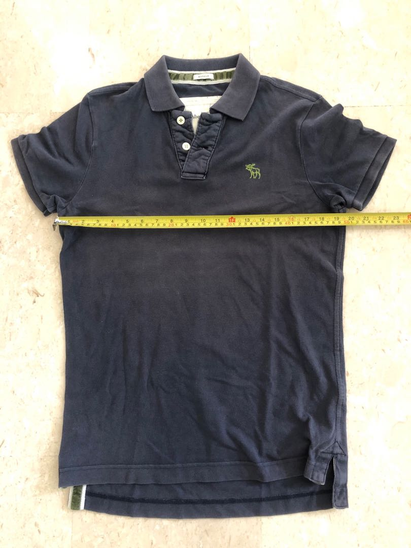 391f9673d Authentic Abercrombie & Fitch (A&F) Polo-Tee Muscle, Men's Fashion ...