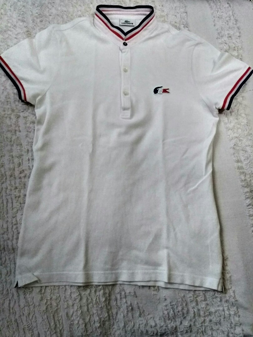 9ce9836f4bd67 Authentic Lacoste trico chinese collar