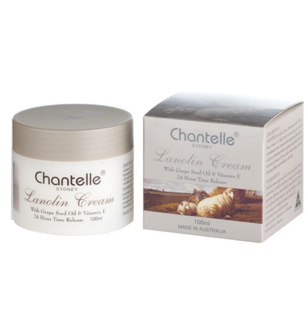Chantelle Sydney-Lanolin Cream with Grape Seed Oil & Vitamin