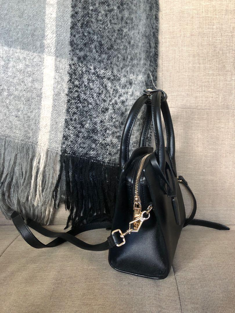 Charles & Keith Black Shoulder Bag