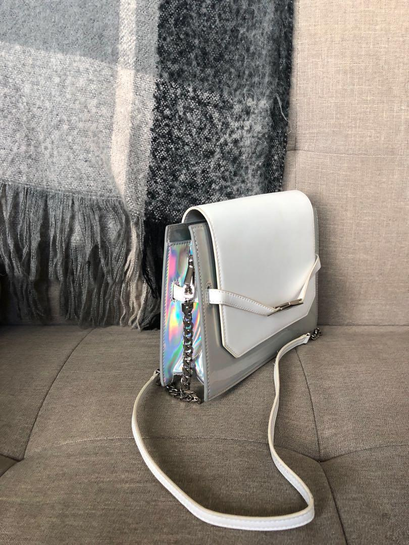 Charles & Keith Holographic Shoulder Bag