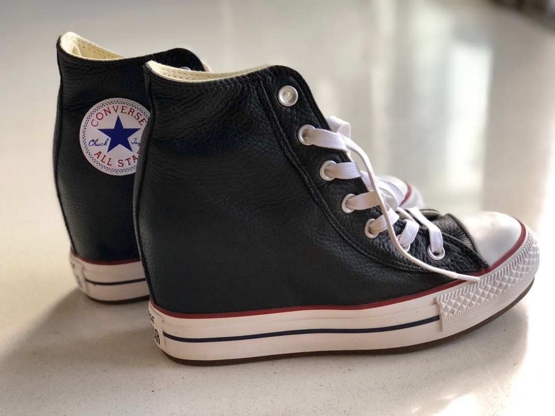 12ebfe49867f Converse High Cut Sneakers With Heel