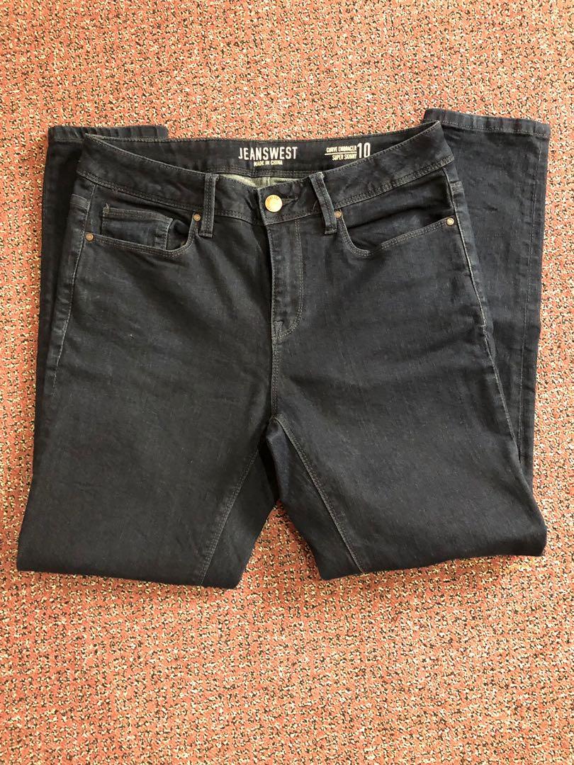 Curve embracer super skinny jeans