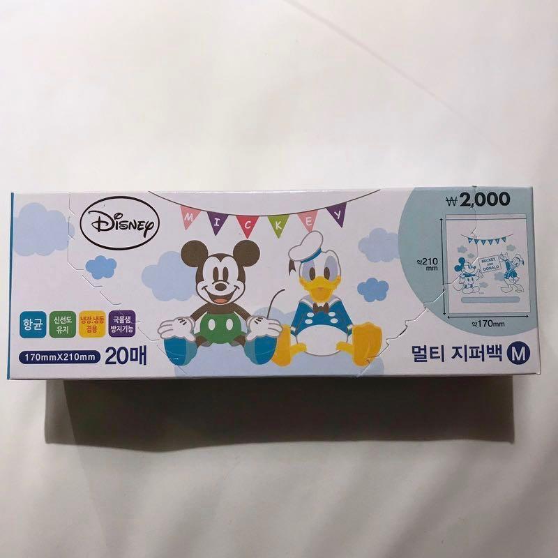 韓國Daiso迪士尼密實袋 - medium