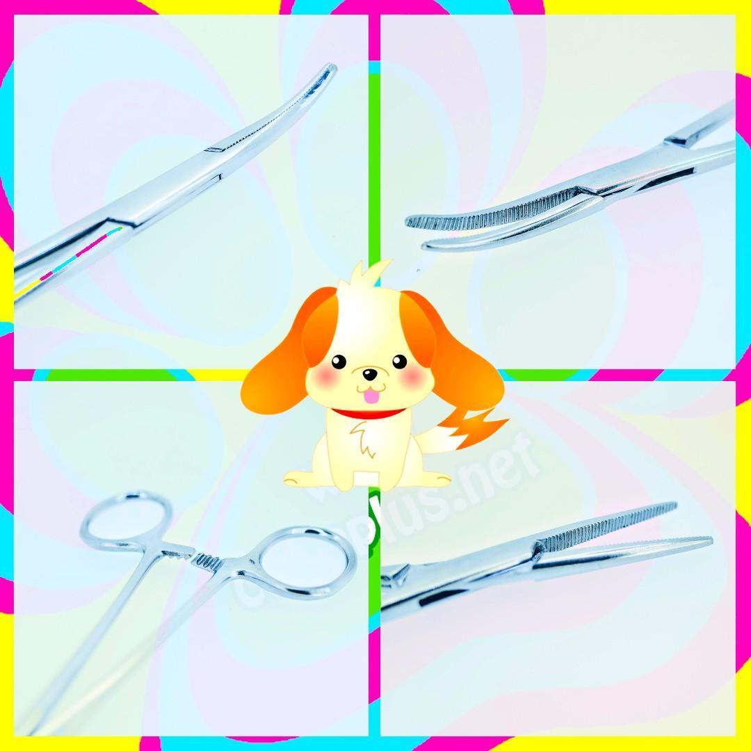 DOG Ear Hair Puller Remover PRO Quality Stainless Steel Straight Hemostat Forcep