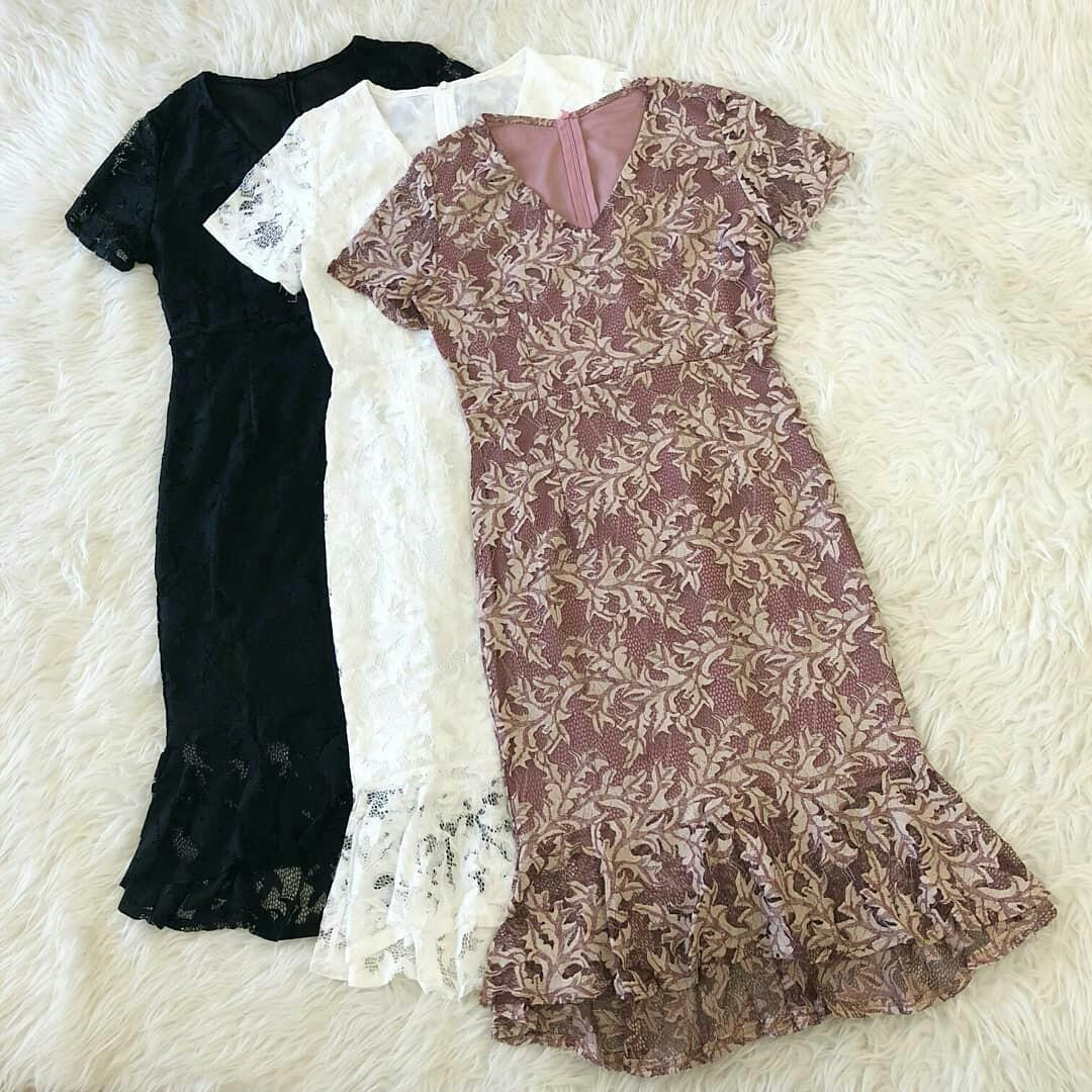 DRESS BRUKAT / LACE DRESS