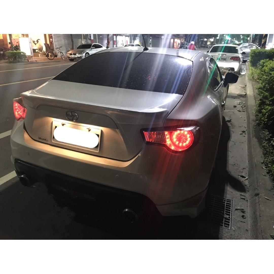 【FB搜尋桃園阿承】豐田 超人氣FT86跑5萬 2013年 2.0 白色 二手車 中古車