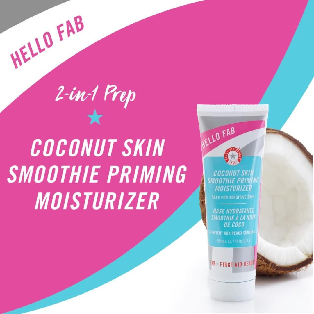 Hello FAB Coconut Skin Smoothie Priming Moisturizer by First Aid Beauty #11