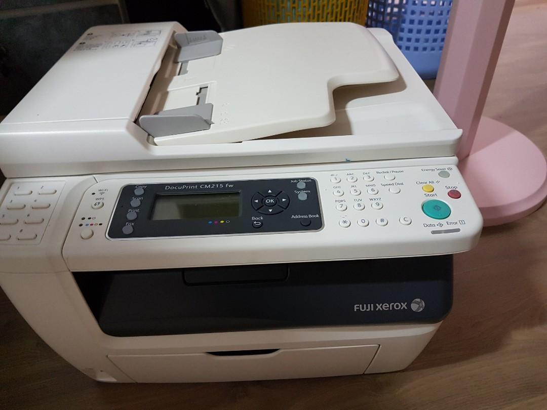 Fuji Xerox Printer cm215 fw