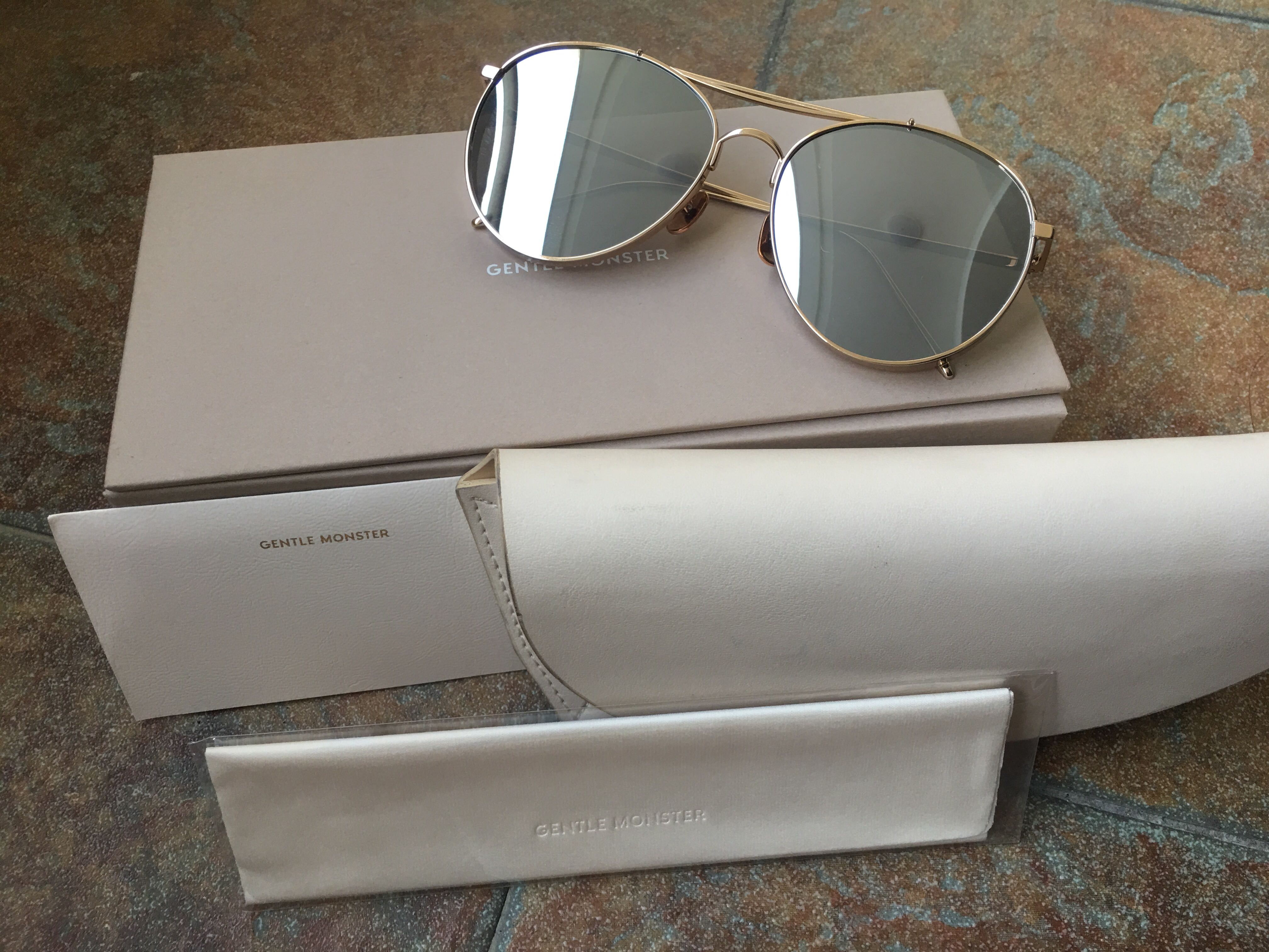 24ec2b7d6723 Gentle Monster Big Bully Titanium Sunglasses