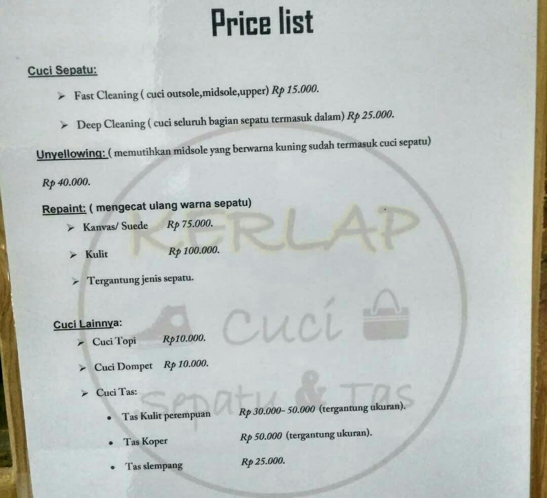 Jasa Cuci Sepatu Jogja Services Others On Carousell