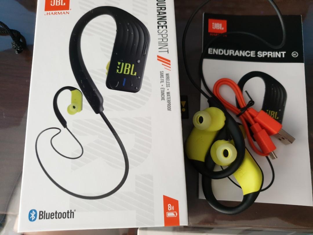 Jbl Endurance Sprint Black Lime Electronics Audio On Carousell