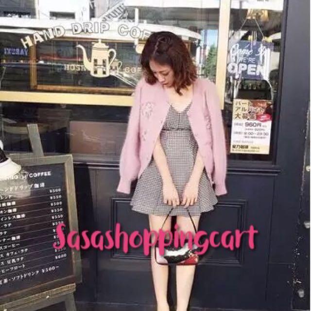 Loose sweet embroidery flowers sweater rabbit wool wool knit cardigan jacket