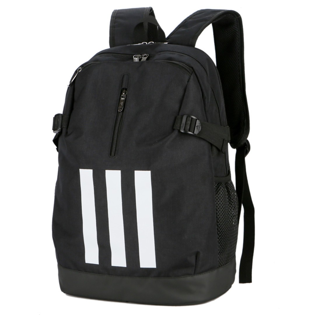 huge selection of 824a6 c67b9 LuckyPurchase888  Adidas backpack double shoulder bag - Black shop ...