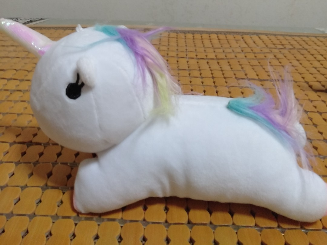 ec7f1f44062d Lying Down Unicorn Plush/Stuff Toy/Soft Toy from Claw machine for  collection., Toys & Games, Stuffed Toys on Carousell