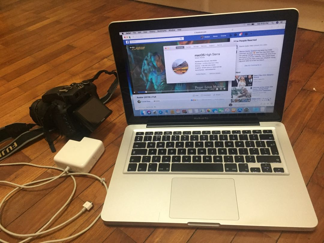 Macbook pro and dslr
