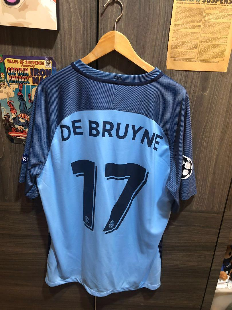 new arrival 0ac50 93954 Man City 16/17 Home Kit Kevin De Bruyne XL, Sports, Sports ...