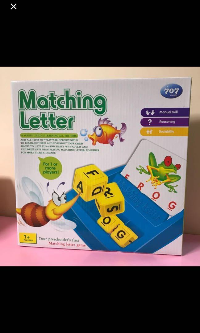 Matching Letter 串字益智遊戲
