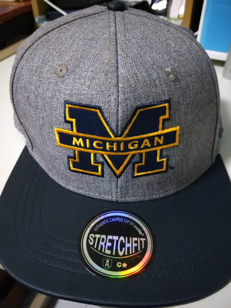 5a21971c Michigan Cap :), Men's Fashion, Accessories, Caps & Hats on Carousell
