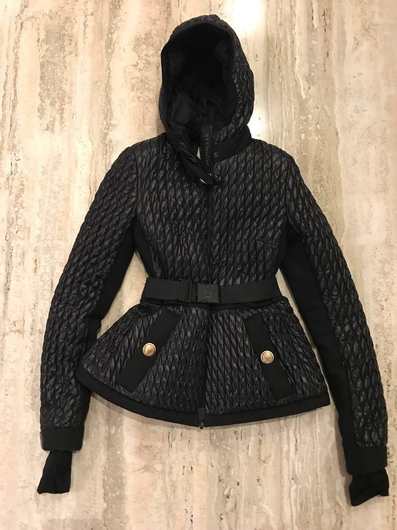 b6923490216c Moncler Black Winter  ski jacket