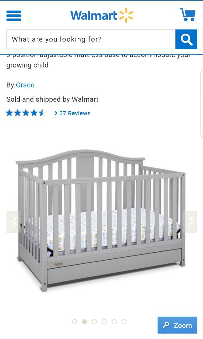 Never opened never used Graco Solano crib with drawer