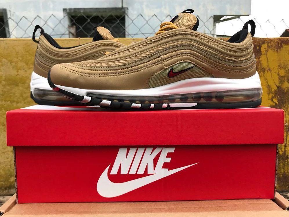 269f5197c827a Nike Air Max 97 OG QS, Fesyen Lelaki, Kasut Lelaki, Sneakers di ...