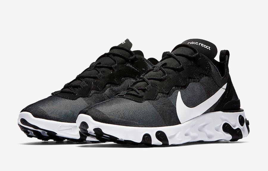 new style b54e3 d09a6 Nike React Element 55, Men s Fashion, Footwear, Sneakers on Carousell