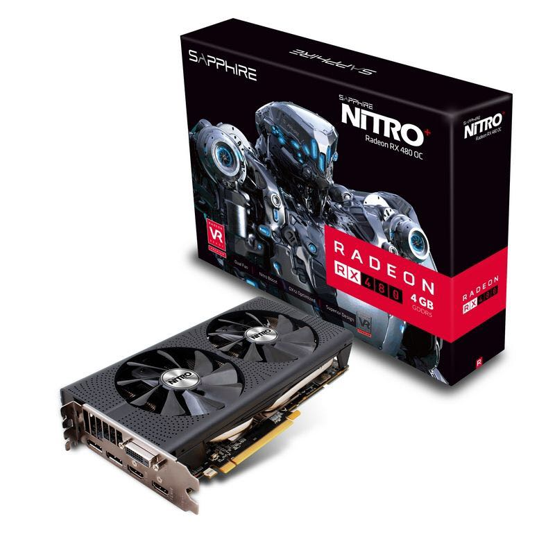 Nitro+ Radeon Rx 480 4GB, Electronics, Computer Parts