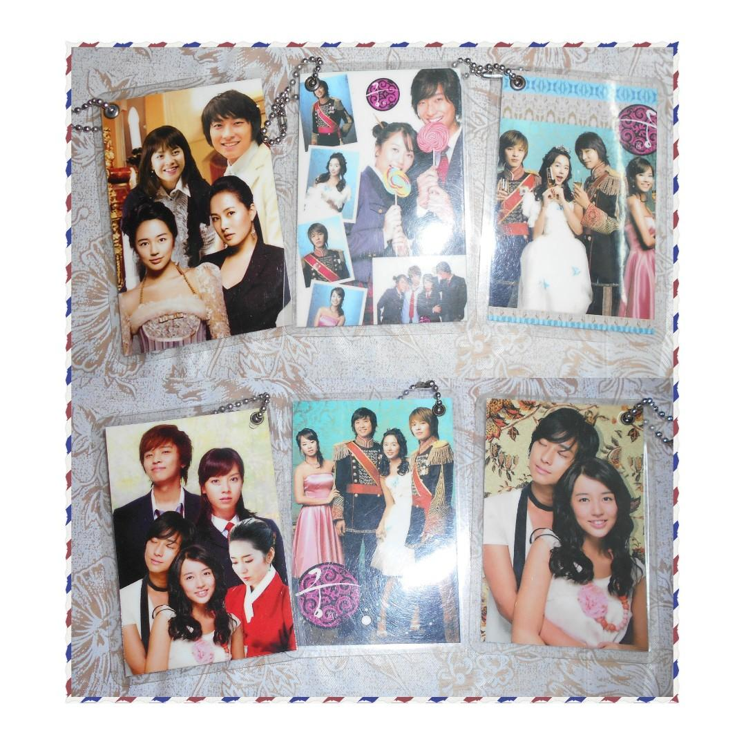 [PRE-LOVED] GOONG (PRINCESS HOUR) CARD KEY-CHAINS - EACH RM1 (NOT INCLUDE POSTAGE)