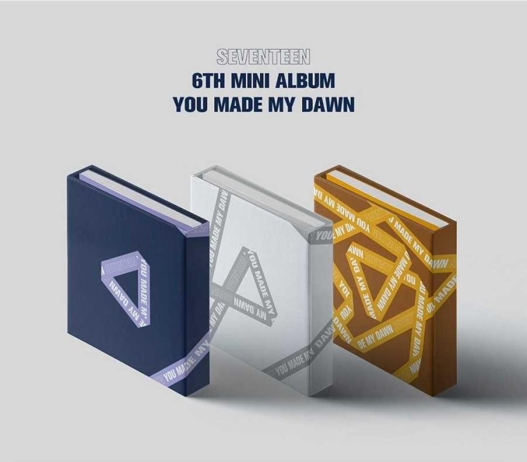 [Pre-order](3album/3poster in tube)Set/Seventeen 6th mini album-You made my down