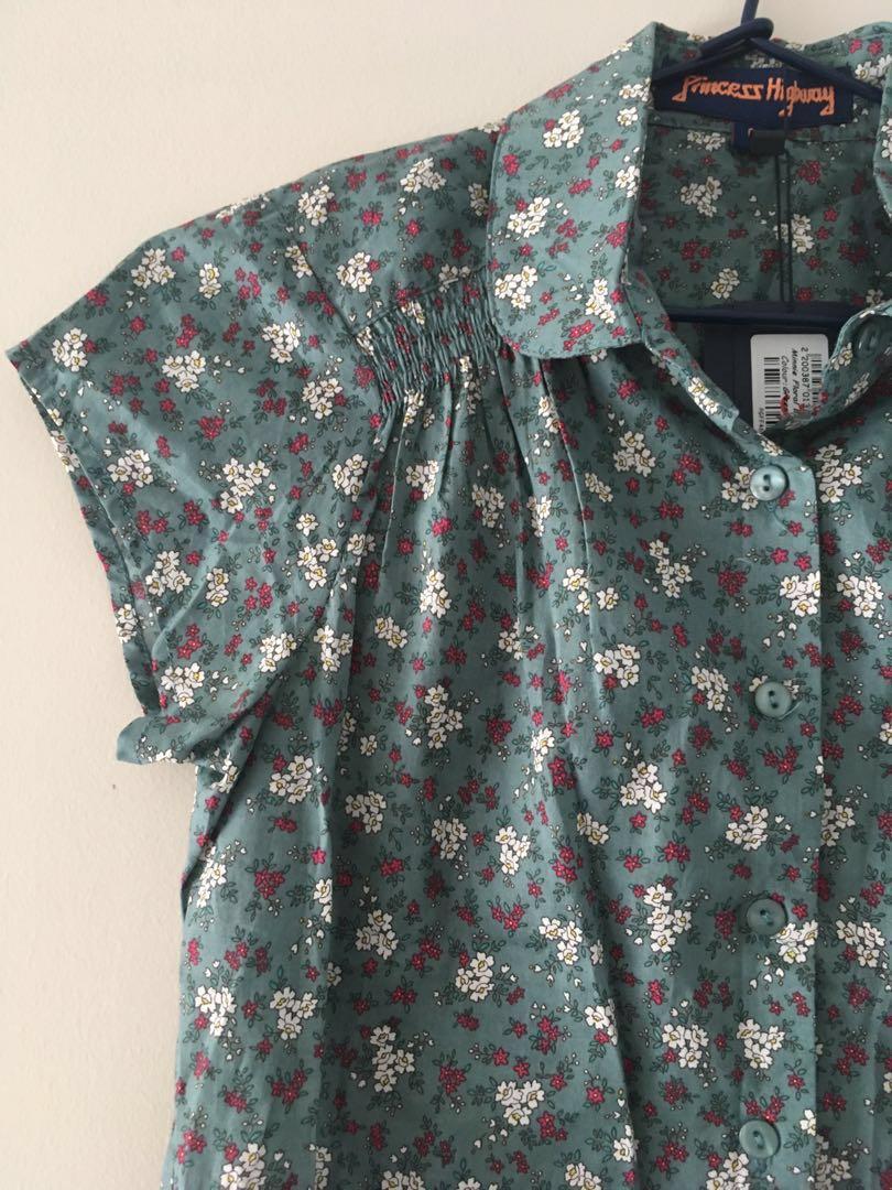 Princess Highway Minnie floral blouse