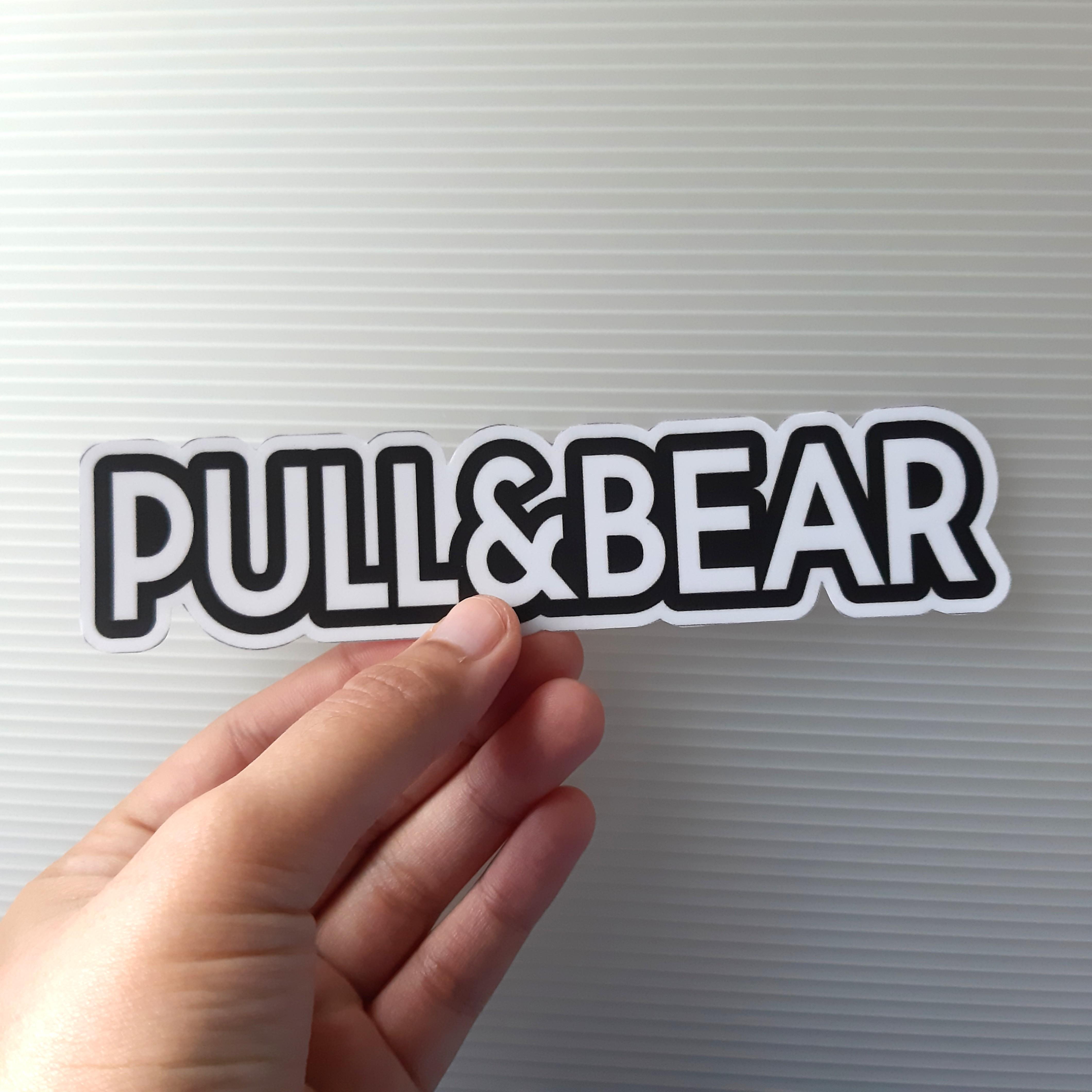 PULL & BEAR logo vinyl sticker