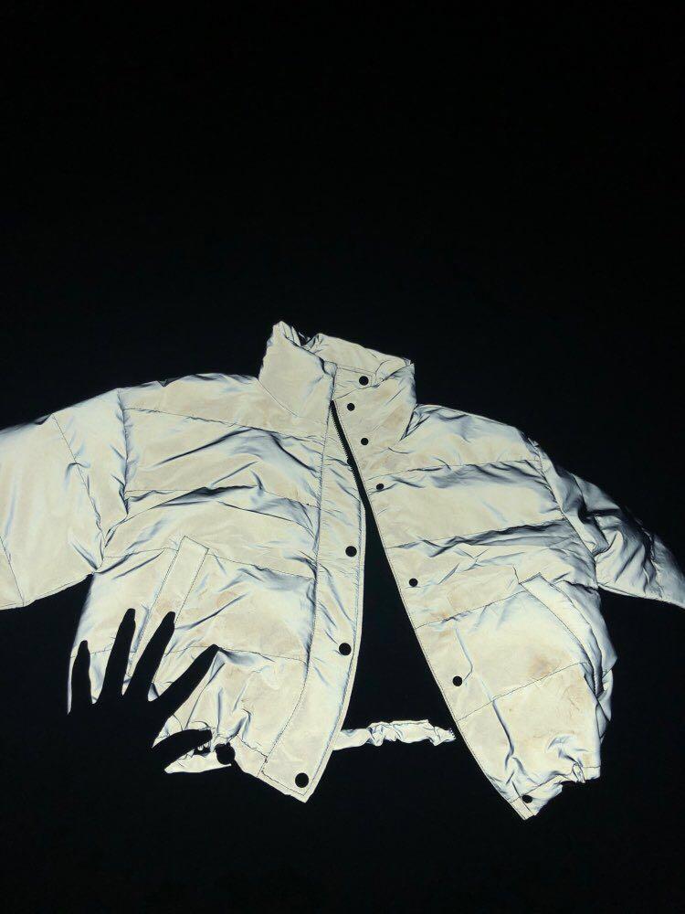 Reflective Puffer Jacket