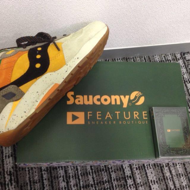 限量版Saucony x Feature G9 Shadow 5 The Pumpkin