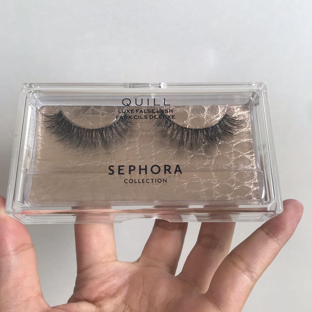 f26238f10ba Sephora Luxe False Lashes, Health & Beauty, Makeup on Carousell