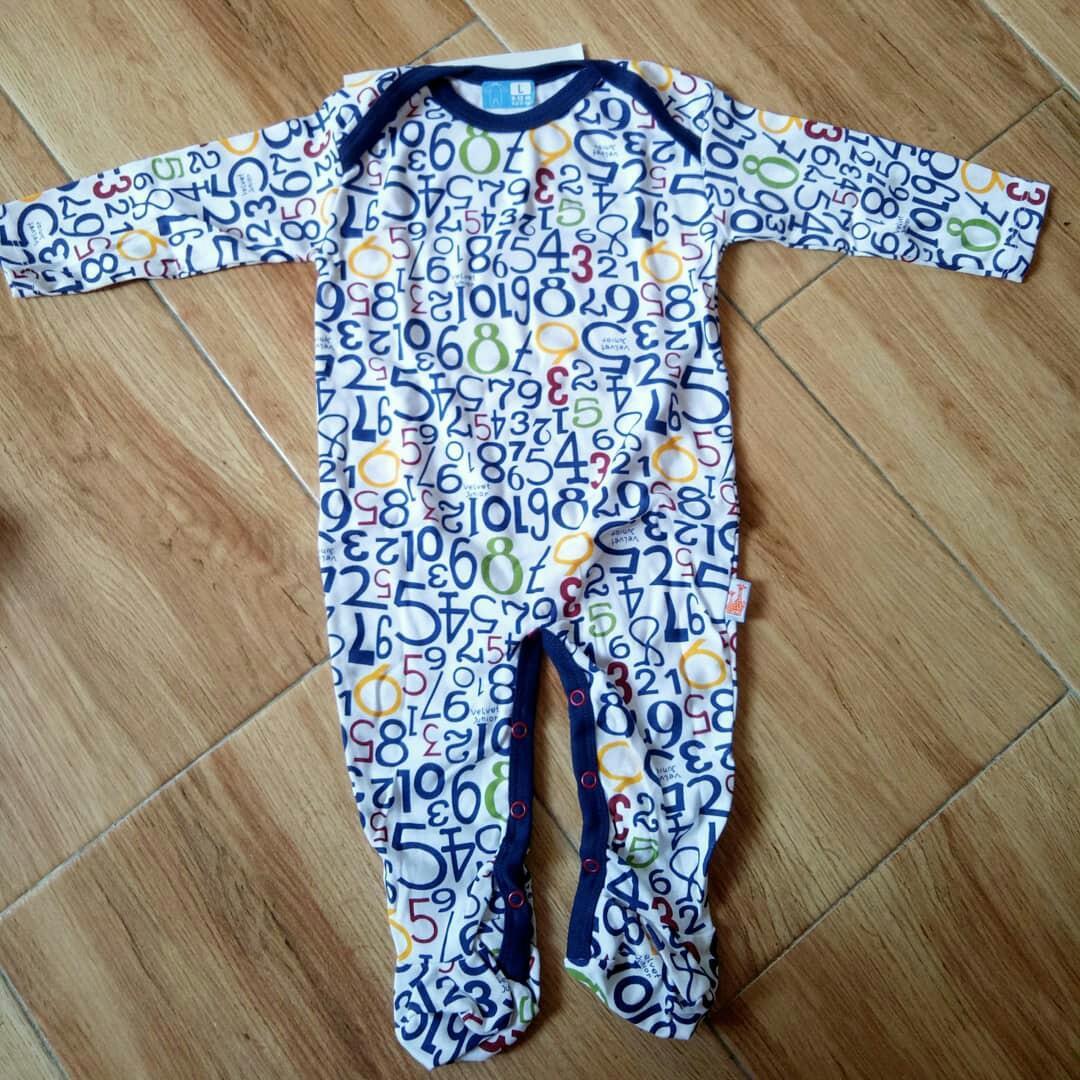 Sleepsuit dreamwear velvet seri star