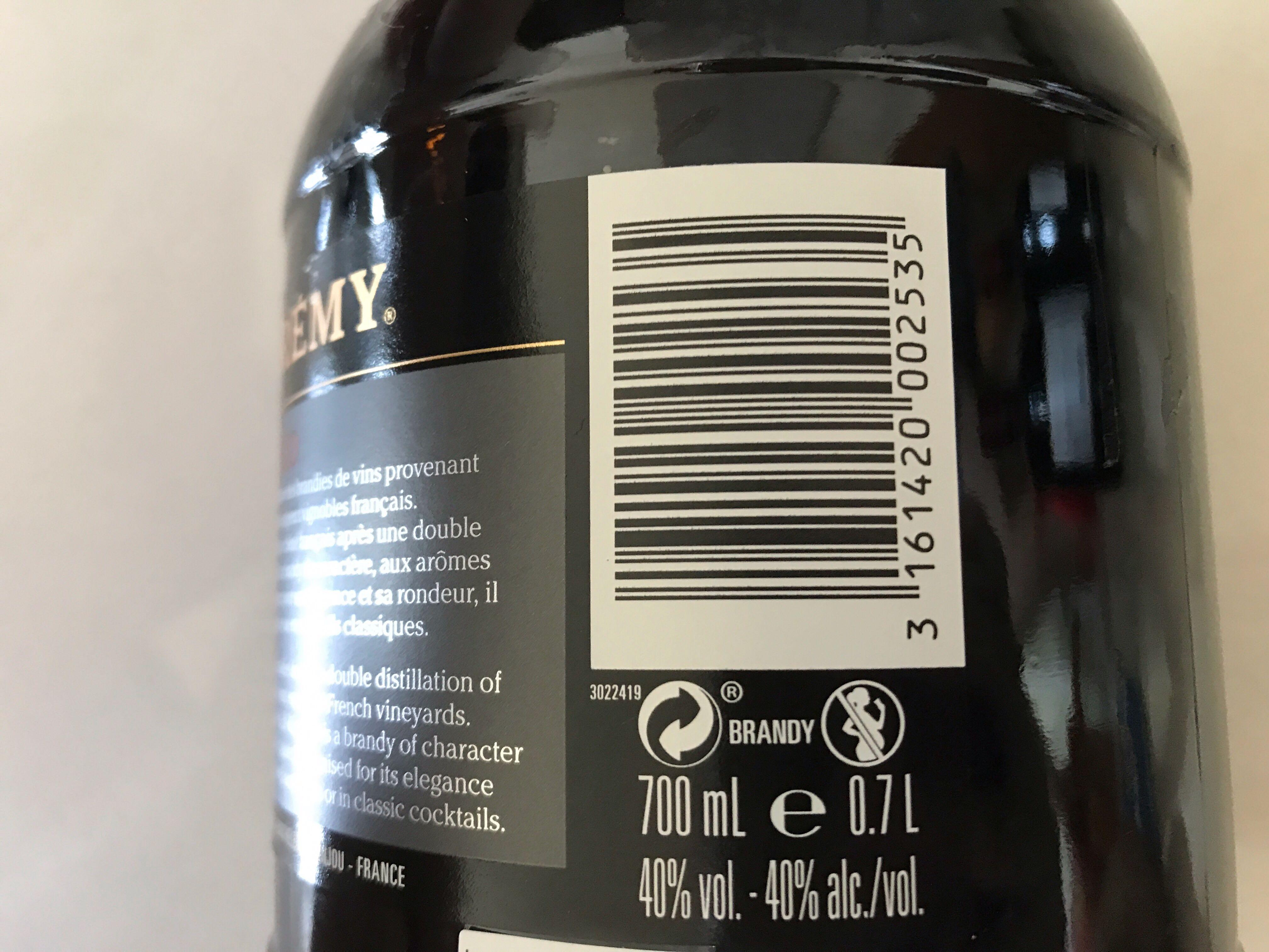 St-Remy Extra Old XO French Brandy