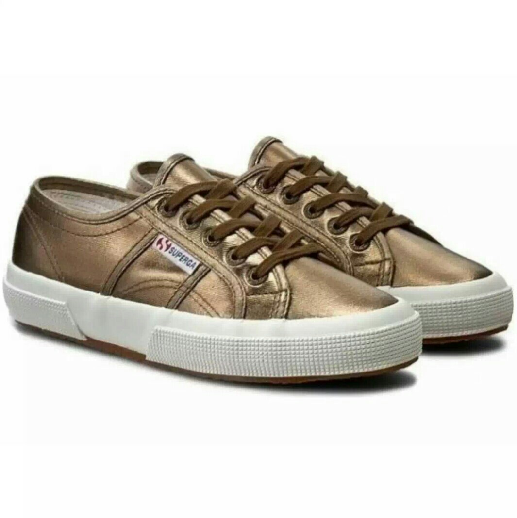 1b74b15ed6d Superga bronze sneakers