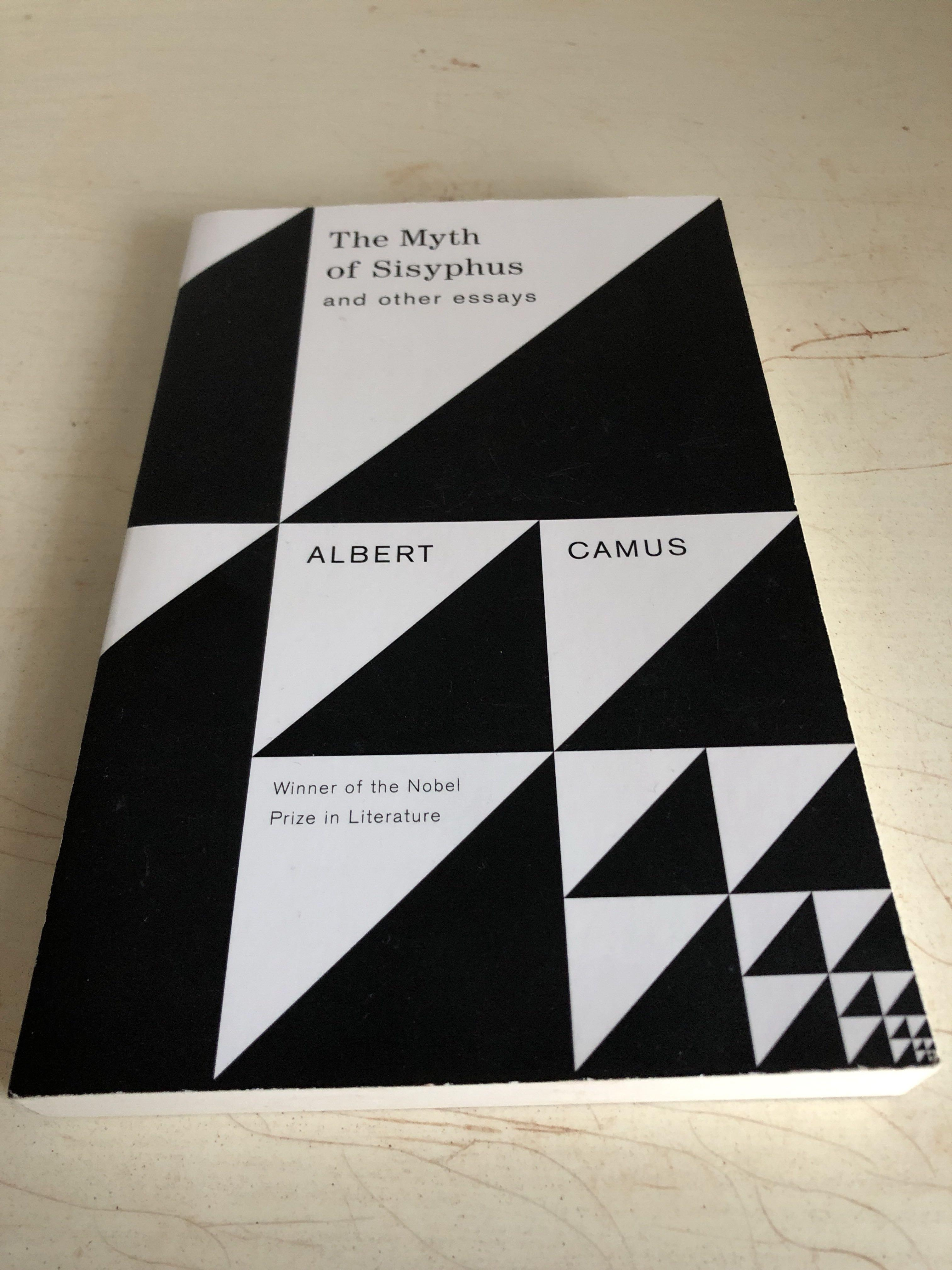 the myth of sisyphus and other essays- albert camus- vintage books