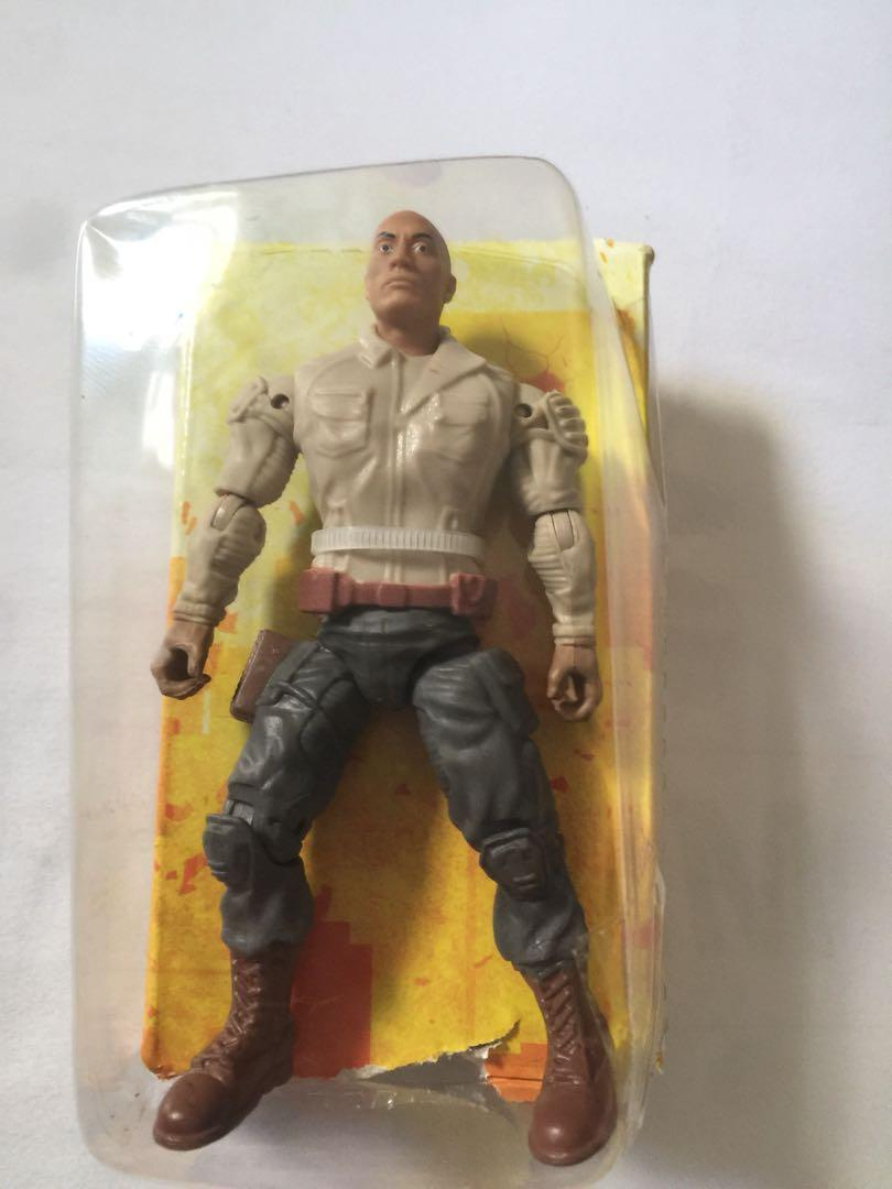 The Rock Dwayne Johnson 3 75 Figure From Rampage Toys Games